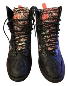 Nike Dunk Sky Black floral Athletic