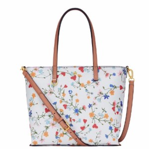 Tory Burch Tote in New Ivory Delphi
