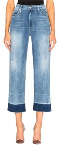 Mother Relaxed Fading Trouser/Wide Leg Jeans