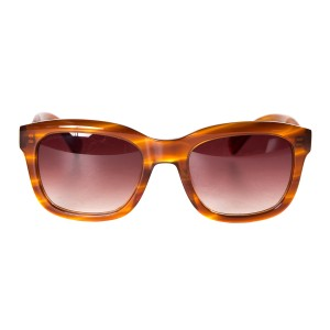 Paul Smith Paul Smith Brown Marbled Acetate Sunglasses