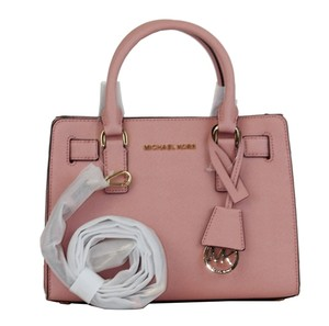 Michael Kors Mk Mk Dillon Satchel in Pale Grapefruit