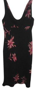 Jones New York short dress black/floral Floral on Tradesy