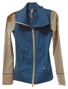 Lululemon Striped Yoga Jacket