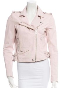 IRO Light pink Leather Jacket