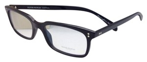 Oliver Peoples New OLIVER PEOPLES Eyeglasses DENISON OV 5102 1005 51-17 Black Frame