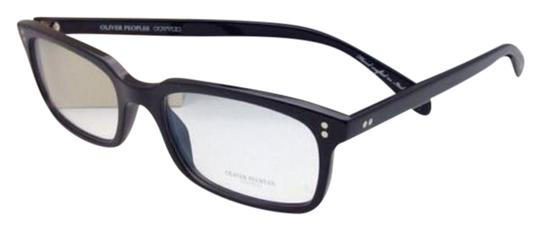 Oliver Peoples New OLIVER PEOPLES Eyeglasses DENISON OV 5102 1005 51-17 Black Frame Image 0