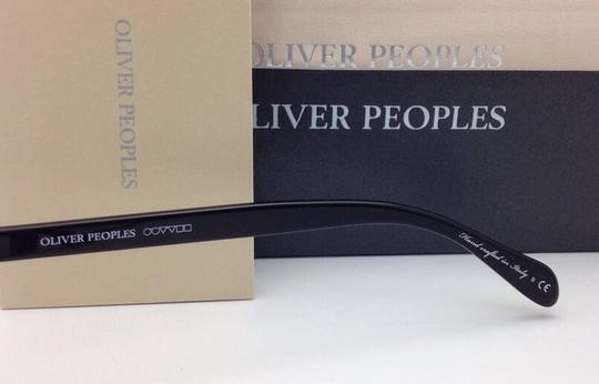 Oliver Peoples New OLIVER PEOPLES Eyeglasses DENISON OV 5102 1005 51-17 Black Frame Image 1