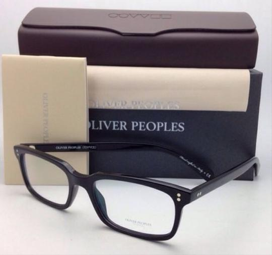 Oliver Peoples New OLIVER PEOPLES Eyeglasses DENISON OV 5102 1005 51-17 Black Frame Image 10
