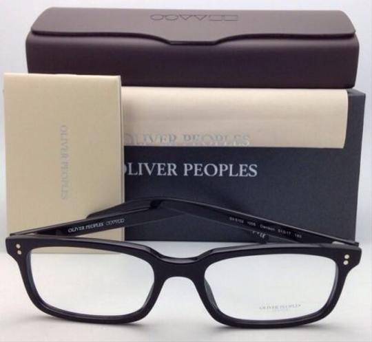 Oliver Peoples New OLIVER PEOPLES Eyeglasses DENISON OV 5102 1005 51-17 Black Frame Image 2