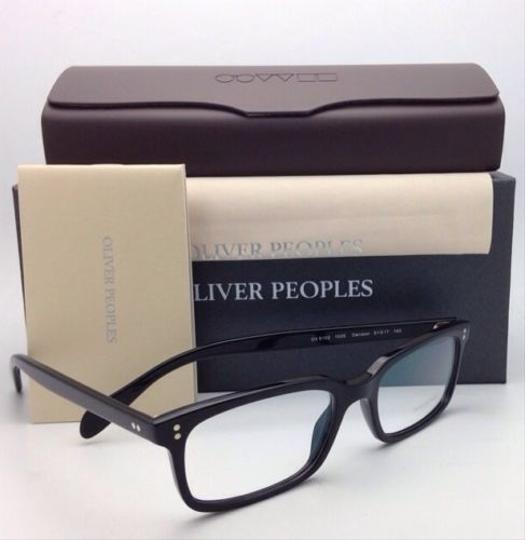 Oliver Peoples New OLIVER PEOPLES Eyeglasses DENISON OV 5102 1005 51-17 Black Frame Image 6
