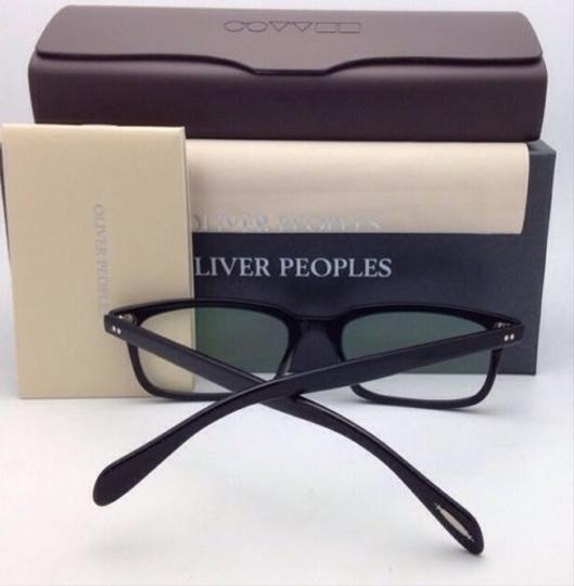 Oliver Peoples New OLIVER PEOPLES Eyeglasses DENISON OV 5102 1005 51-17 Black Frame Image 7