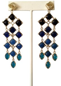 Kendra Scott Gloria Chandelier Blue Earrings