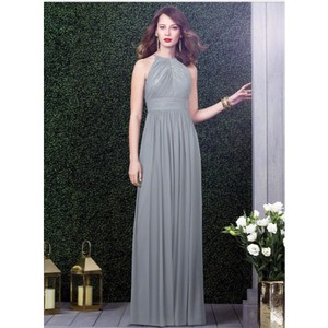 Dessy Platinum Dress