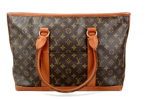 Louis Vuitton Weekend Pm Tote in Brown