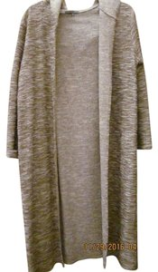 Retro-ology Hooded Duster Long Sweater Duster Cardigan