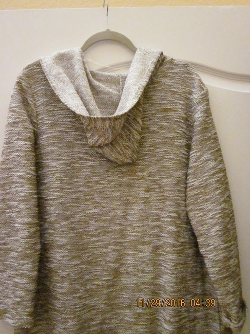 Retro-ology Hooded Duster Long Sweater Duster Cardigan Image 2