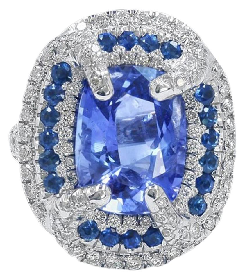 sapphire diamond jewelers ceylon ring and exeter halo product