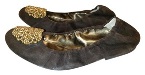 Tahari Brown Flats
