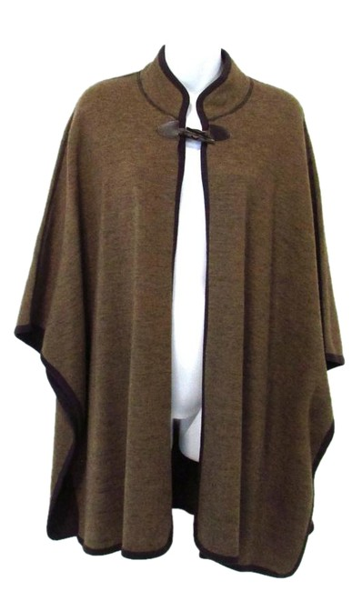 Tribal Single Button 3/4 Sleeve Knit Cape 50%OFF