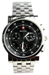 Michele Sport Sail Black Dial Watch