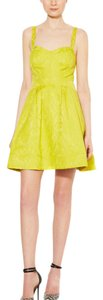 Zac Posen Brocade Flair Dress