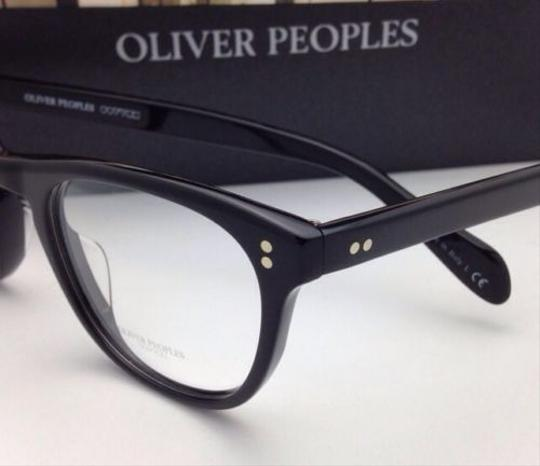 Oliver Peoples New OLIVER PEOPLES Eyeglasses FLORENZ OV 5187 1005 46-20 Black Frame Image 2