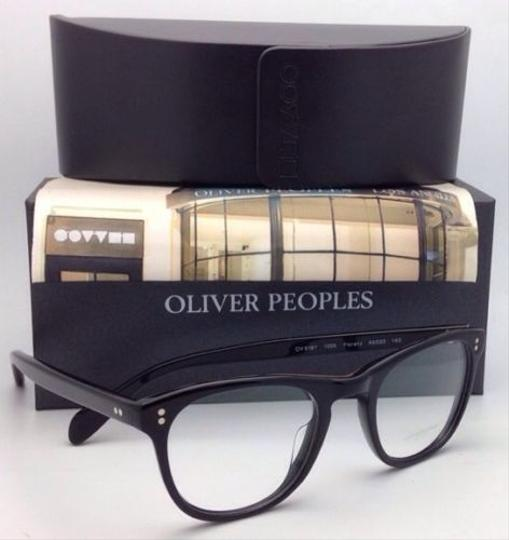 Oliver Peoples New OLIVER PEOPLES Eyeglasses FLORENZ OV 5187 1005 46-20 Black Frame Image 7
