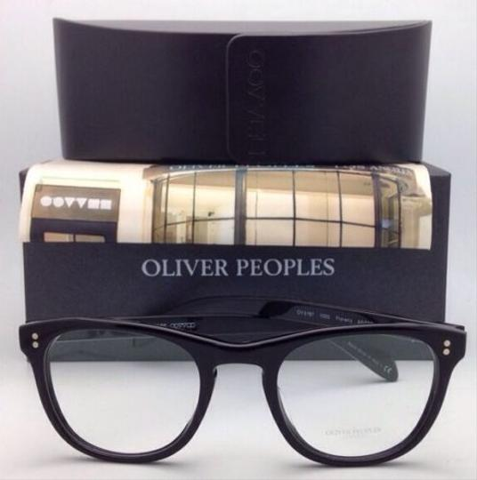 Oliver Peoples New OLIVER PEOPLES Eyeglasses FLORENZ OV 5187 1005 46-20 Black Frame Image 8