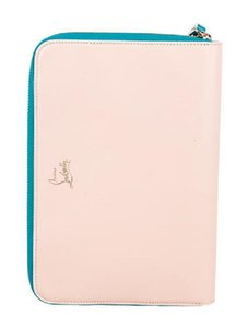 Christian Louboutin CHRISTIAN LOUBOUTIN LEATHER COLORBLOCK IPAD CASE