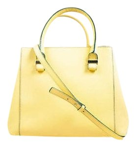 Victoria Beckham Lemon Nude Tote in Yellow