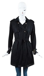 Chrome Hearts Cashmere Trench Coat
