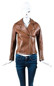 Sandro Leather Moto 1 Motorcycle Jacket
