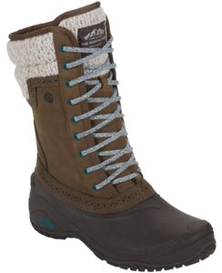 The North Face Winter Snow Desert Palm Brown/Basalm Blue Boots