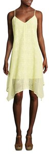HeartSoul short dress Yellow on Tradesy