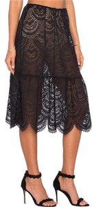 For Love & Lemons Skirt Black