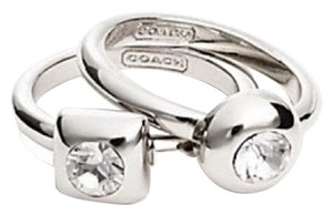 Coach Coach Stone Ring Set