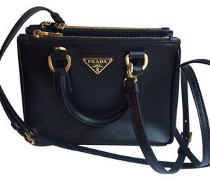Prada Patent Leather Cross Body Bag