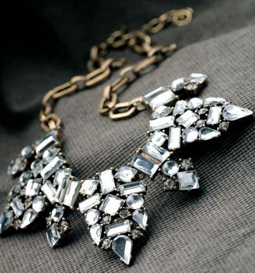 Other New Pointed Tribal Crystal Necklace