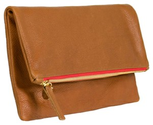 Clare V. Tan brown Clutch