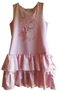 American Girl short dress Pink Love Design on Tradesy