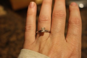 Tolkowsky Diamond Engagement Ring