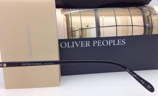 Oliver Peoples New OLIVER PEOPLES Eyeglasses RILEY R BK OV 5004 1005 47-20 Black Image 1
