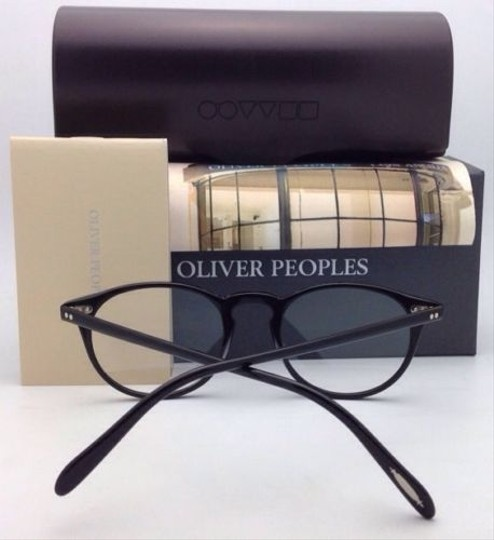 Oliver Peoples New OLIVER PEOPLES Eyeglasses RILEY R BK OV 5004 1005 47-20 Black Image 2