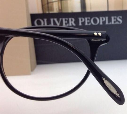 Oliver Peoples New OLIVER PEOPLES Eyeglasses RILEY R BK OV 5004 1005 47-20 Black Image 3