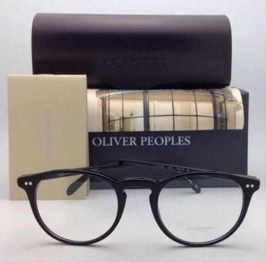 Oliver Peoples New OLIVER PEOPLES Eyeglasses RILEY R BK OV 5004 1005 47-20 Black Image 4