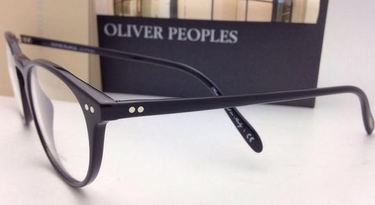 Oliver Peoples New OLIVER PEOPLES Eyeglasses RILEY R BK OV 5004 1005 47-20 Black Image 5