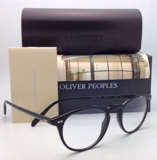 Oliver Peoples New OLIVER PEOPLES Eyeglasses RILEY R BK OV 5004 1005 47-20 Black Image 6
