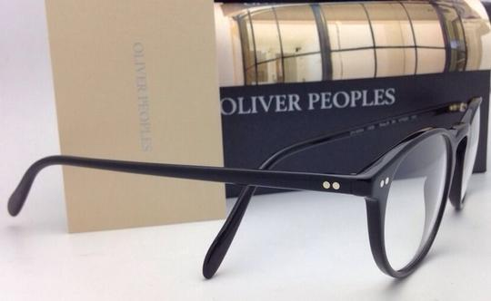 Oliver Peoples New OLIVER PEOPLES Eyeglasses RILEY R BK OV 5004 1005 47-20 Black Image 7