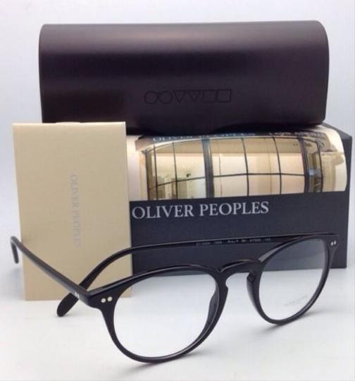 Oliver Peoples New OLIVER PEOPLES Eyeglasses RILEY R BK OV 5004 1005 47-20 Black Image 8