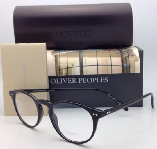 Oliver Peoples New OLIVER PEOPLES Eyeglasses RILEY R BK OV 5004 1005 47-20 Black Image 9